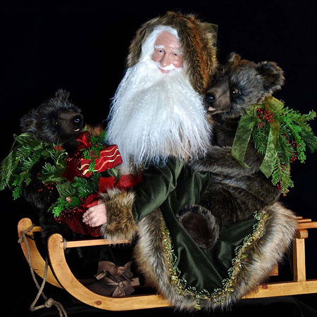 Almost Heaven Collectible Santa