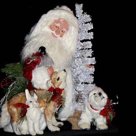 Alpine High Collectible Santa