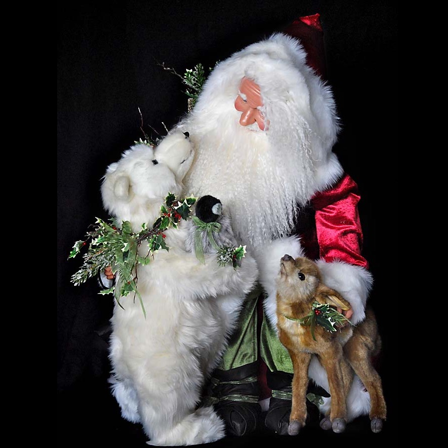 Arctic Hugs Santa