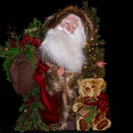 Bearing Gifts Collectible Santa