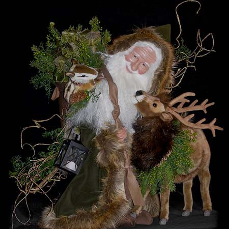 Black Forest Collectible Santa
