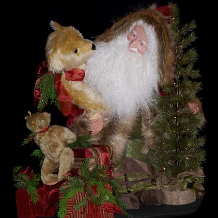 Comfort and Joy Collectible Santa