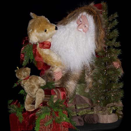 Comfort and Joy Collectible Santa