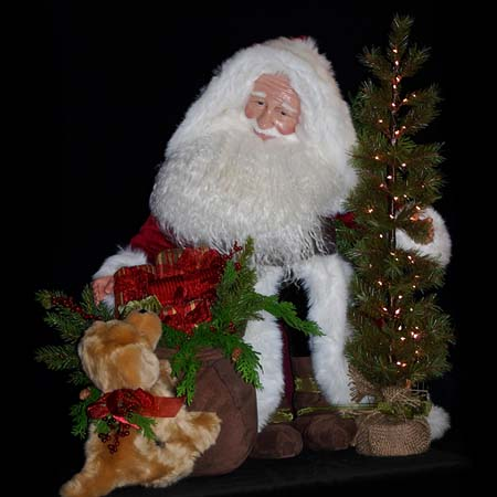Glad Tidings Collectible Santa
