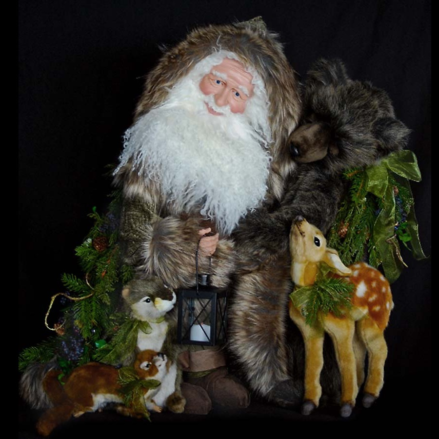 Heaven and Nature Sing Collectible Santa