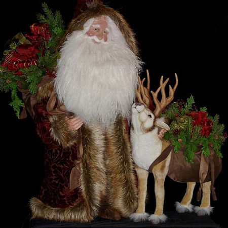 Nordic Night Collectible Santa