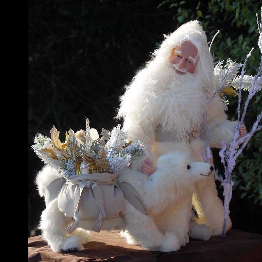 Winter Trails Collectible Santa